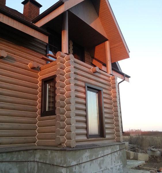 Дом-объект проекта до реконструкции