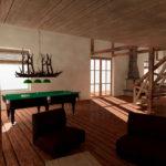 Интерьер дачного домика. Дизайн-проект