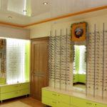 Интерьер магазина оптики. Реализация дизайн-проекта