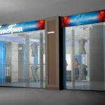 Экстерьер бутика Леди Гранд, ТЦ ГриНН в Орле. Дизайн-проект