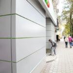 Кассеты из композитного алюминия, вентилируемый фасад