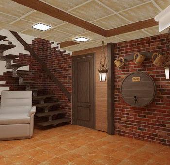 Дизайн интерьера загородного дома в Орле