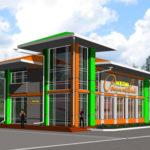 Дизайн проект минимаркета на ул. Рощинская в Орле