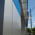 Вентилируемый фасад. Кассеты из композитного алюминия
