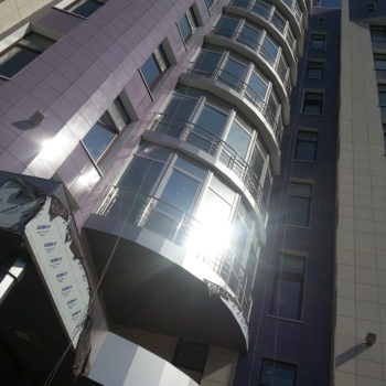 Вентилируемый фасад Управления Казначейства РФ