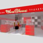 Дизайн интерьера. Бренд дизайн для бутика Sweet Dreams в Орле