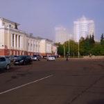 Фотография главной площади Орла от нашей студии