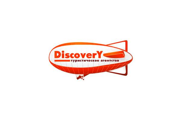 """Разработка логотипа для туристического агентства """"Дискавери"""""""