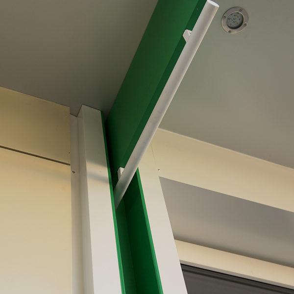 Элемент вентилируемого фасада и козырька
