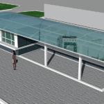 Проект остановочного комплекса