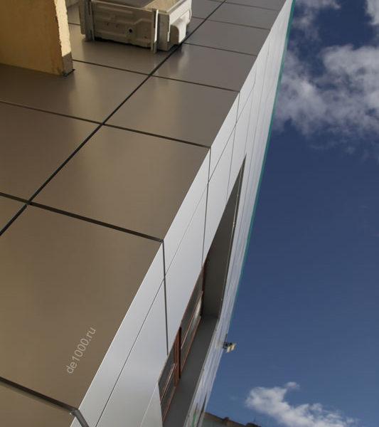 Кассеты из композитного алюминия. Элементы вентилируемого фасада
