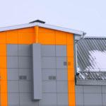 """Вентилируемый фасад. Производство и монтаж под ключ. Подстанция """"Западная"""" в Орле"""