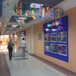 Декоративное летнее оформление торгового центра ГриНН