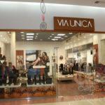 Вывеска VIA UNICA. Производство и монтаж