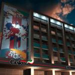 Благоустройство фасадов здания гостиницы