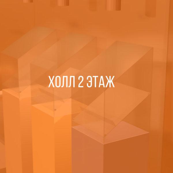 Дизайн-проект. Холл второго этажа