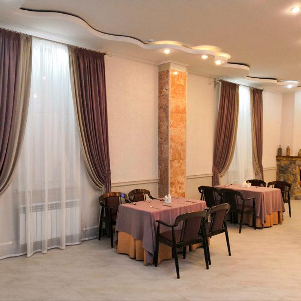 Дизайн интерьера. Ресторан Салют