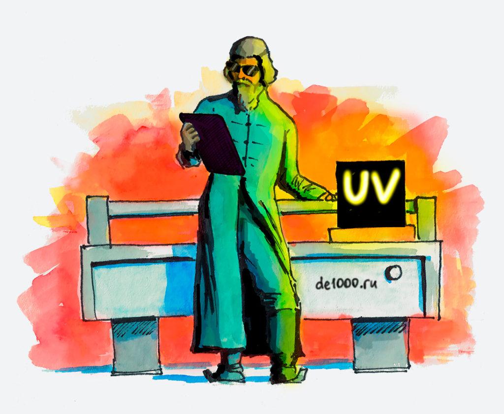 ультрафиолетовая печать в Орле