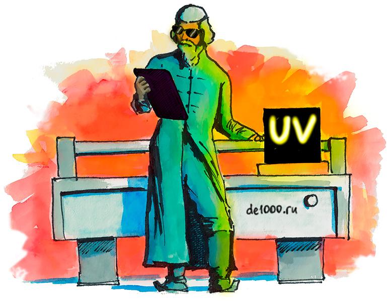 Ультрафиолетовая печать на пластике, металле в Орле